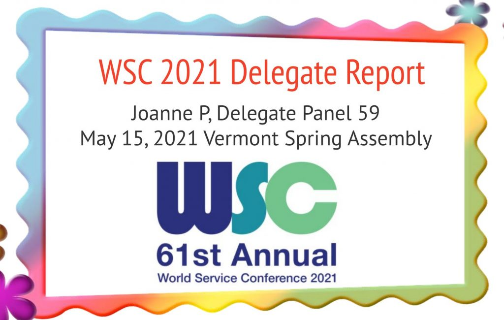 Spring Assembly Delegate Report Cover
